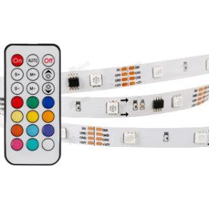 Светодиодные ленты / Ленты RGB бегущий огонь SPI-DMX / комплекты SPI 12V с пультом с гарантией качества и по лучшей цене