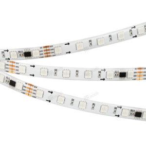 Светодиодные ленты / Ленты RGB бегущий огонь SPI-DMX / SPI 60 5060 [12V