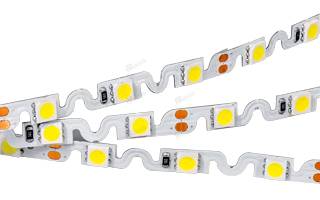 Светодиодные ленты / Ленты LUX smd 5060 / изгиб на плоскости RZ 12V 48 [11 W/m] с гарантией качества и по лучшей цене