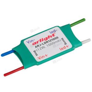 Блоки питания / Источники тока [для мощных светодиодов] / DC/DC 12-24V [ток 1000 mA] с гарантией качества и по лучшей цене
