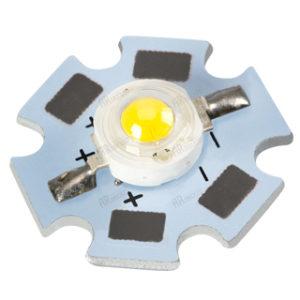 Светодиоды и Модули / Мощные светодиоды / 1W-3W на плате [STAR] с гарантией качества и по лучшей цене