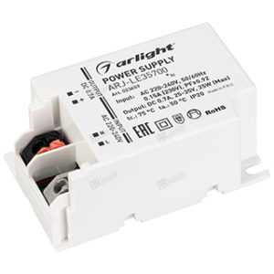 Блоки питания / Источники тока [для мощных светодиодов] / AC/DC [ток 700 mA] с гарантией качества и по лучшей цене