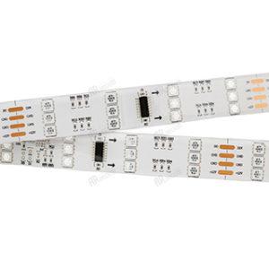 Светодиодные ленты / Ленты RGB бегущий огонь SPI-DMX / SPI 96 5060 [12V] трехрядная с гарантией качества и по лучшей цене
